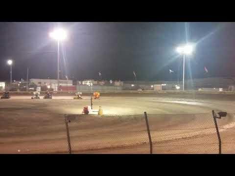 Lemoore Raceway 8/12/17- end of the main event
