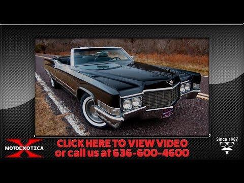 1969 Cadillac Coupe de Ville Convertible || For Sale