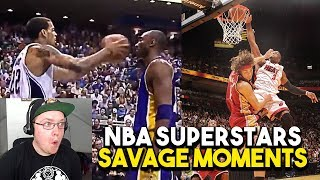 Reacting To Every NBA Star's Most SAVAGE Moment!