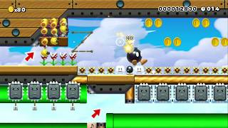 Speedrun: Conquer the Airship by Jenny - SUPER MARIO MAKER - NO COMMENTARY