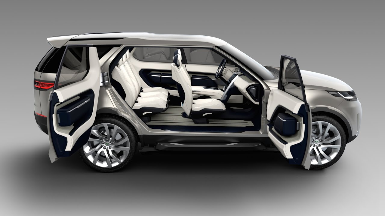 Land Rover Discovery Vision Best Options Suv Land Rover