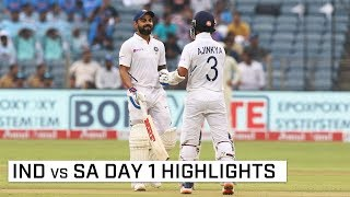 INDIA VS SOUTH AFRICA 2nd TEST DAY 1 HIGHLIGHTS