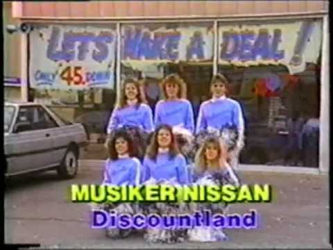 Musiker Nissan-Cheerleaders