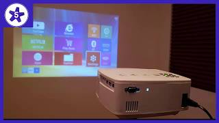 ERISAN Projector Video Home TV Theater Review