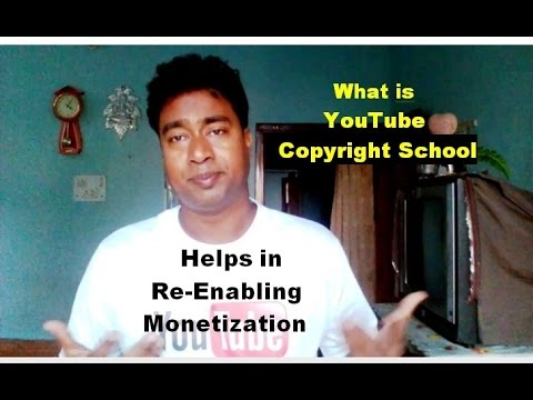 How to Re-Enable Youtube Channel Monetization Using - YouTube Copyright School