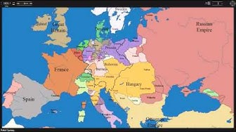 European time lapse map w years & events