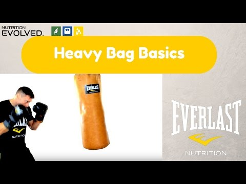 Learn The Basics For A Heavy Bag Workout (get The Most Out Of  Your Workout!)