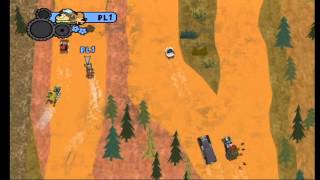 Wacky Races Crash and Dash Gameplay