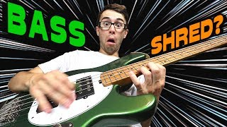 Can You SHRED On A BASS?