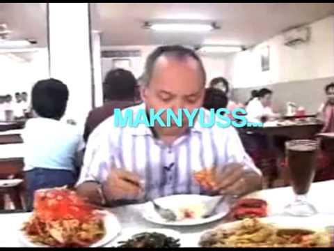 Speech Composing Bondan Winarno - MAKNYUS! Kepiting Saus Jepang