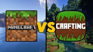 mINECRAFT POCKET EDITION VS MINICRAFT 2019  MCPE ПРОТИВ MINICRAFT 2019!