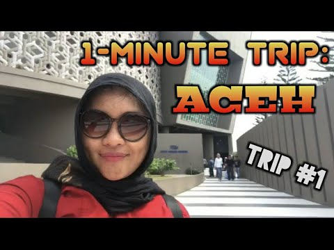 1-Minute Trip: Aceh! (Culinary Trip During A Business Trip)