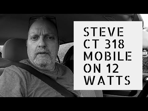 CB Radio UK. Steve CT318m SSB on 12 watts QRP.