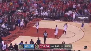 Kevin Durant Leg Injury | Warriors vs. Raptors Game 5