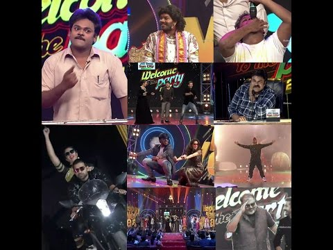 New Year Special Event Promo 4   Welcome to the party 2017   Jabardasth   Dhee Jodi teams