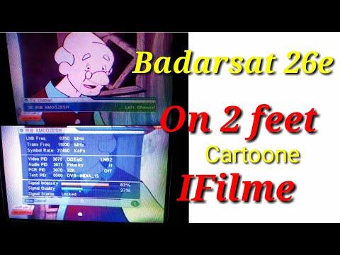 Badarsat 26e set 2 feet mpeg 2 box par update list 31/10/18