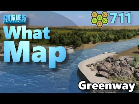 Download #CitiesSkylines - What Map - Map Review 711