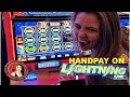 HANDPAY JACKPOT on Lightning Link Slot Machine at Casino in Las Vegas
