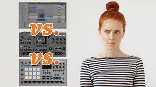 Best Sequencer and Sampler? LIVE vs OCTATRACK vs RYTM