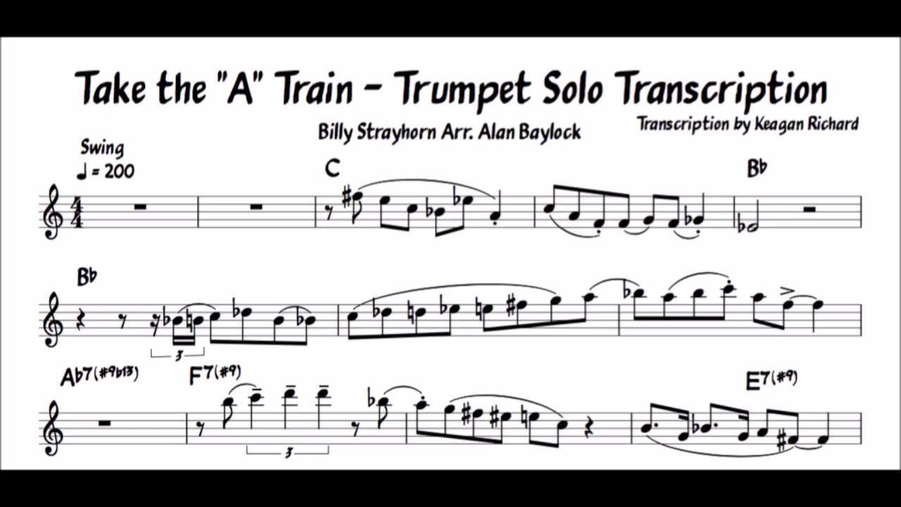 Trumpet Solo Pdf
