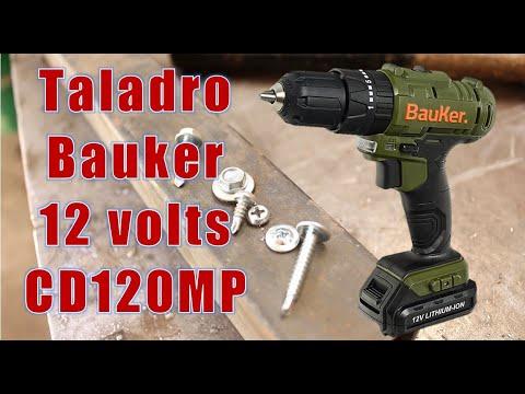 Review taladro inalambrico Bauker CD120MP