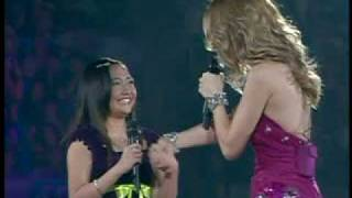 Charice And Celine Dion @ Madison Square Garden
