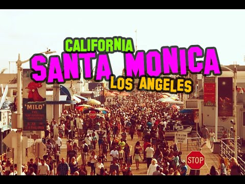 Santa Monica Beach HD - Lifestyle in Los Angles, California