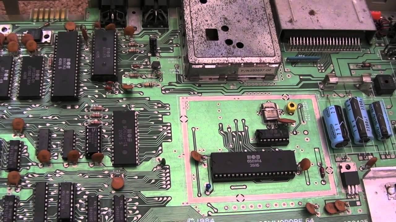 Commodore 64 (C64) Graphical Corruption Repair