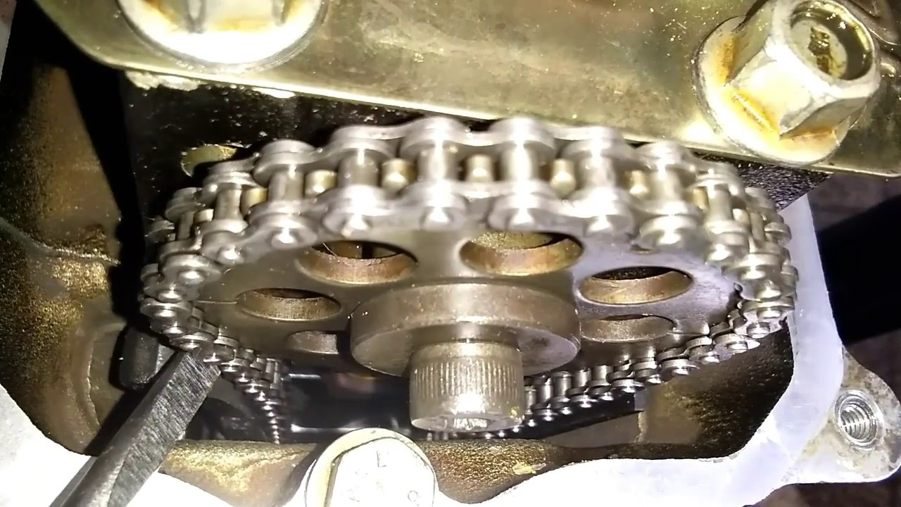 How To Work Motorcycle Timing Chain Tensioner Youtube Wiring Diagram Motor Karisma