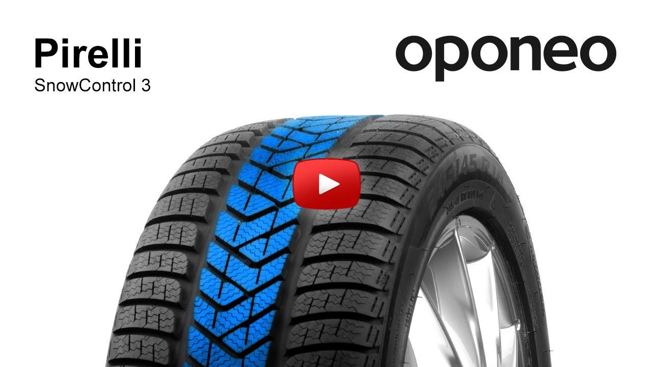 pneu pirelli snowcontrol 3 pneus hiver oponeo youtube. Black Bedroom Furniture Sets. Home Design Ideas