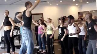Maykel Fonts & Kirenia Cantin. Afro (Yoruba dance). Майкель Фонтс. Афро Элегва (урок целиком)(Cuban Afro work-shop presented by Maykel Fonts & Kirenia Cantin at Monaco Salsa Festival 2007. Yoruba dance, Movements of orisha (deity) Elegua. He is the ..., 2015-07-09T08:00:47.000Z)
