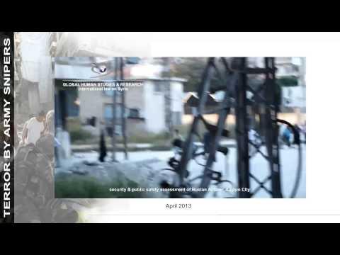 LoW R 2   terror by army snipers   Aleppo City   Bustan Al Qasr