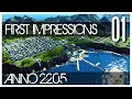 Anno 2205 Gameplay - Ep.01 - First Impre