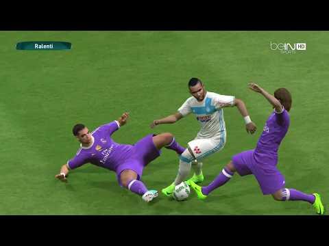 PES 2017#REAL MADRID vs Olympique de Marseille ##WORLD CUP CLUB## phase de groupe journée 3