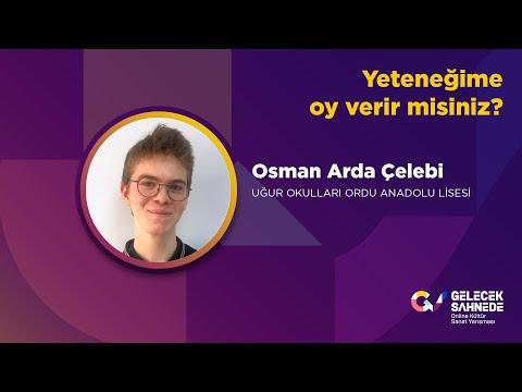 Osman Arda Çelebi   Uğur Okulları Ordu Anadolu Lisesi   10.Sınıf
