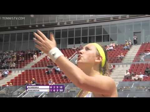 Victoria Azarenka questions Mariana Alves' authoritaaaay (2013 Madrid)