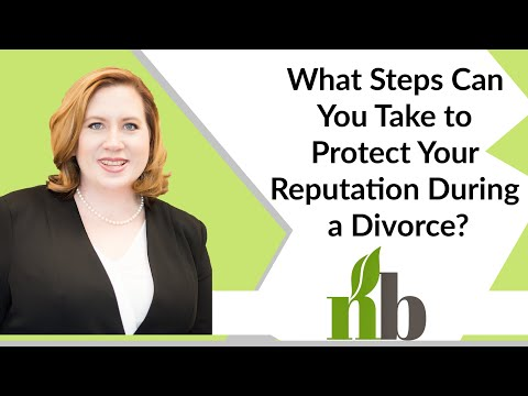 What Steps Can You Take to Protect Your Reputation During a Divorce? | Divorce Lawyers | Amber James