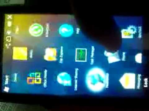 Windows Mobile 6.5 23004 on acer f900