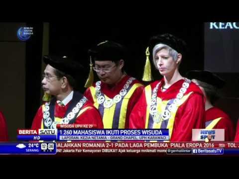 Wisuda UPH ke-29 Diikuti 1.260 Wisudawan