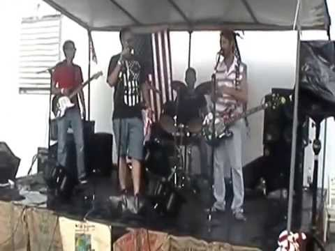 Free Fall In The Rain Live at Austin's Coffee 4th of July I4 Music Festival 2014