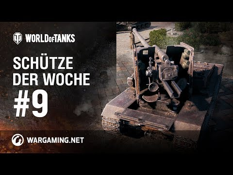 Schütze der Woche #9 [World of Tanks Deutsch] thumbnail