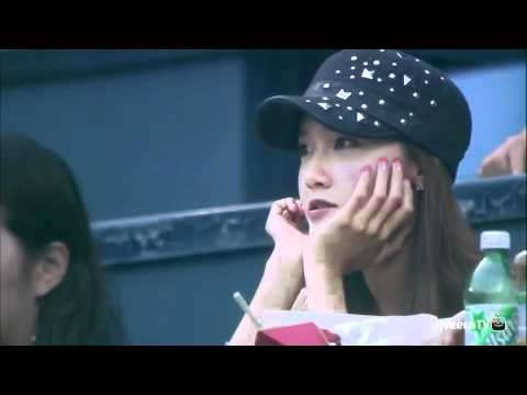 Samsung Lions VS Doosan Bears SNSD YoonA Cut  2012 Korea Professional  Baseball  - YouTube 81cebe2240be