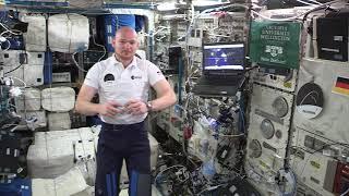 Alumnus Alexander Gerst in space