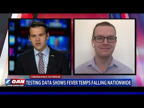 Testing data shows fever temps falling nationwide