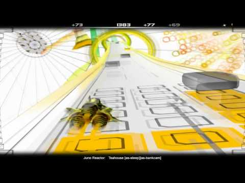 Audiosurf: Teahouse [by Juno Reactor]