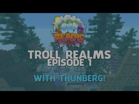 Minecraft SkyRealms [01] - TROLL REALMS!