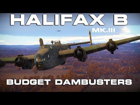 War Thunder - Halifax Budget Damn Busters Promo