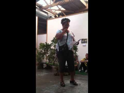 Nalo Hopkinson speaks at Edgeland Futurism event