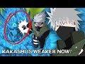 The Real REASON Kakashi Hatake is WEAKER Now?