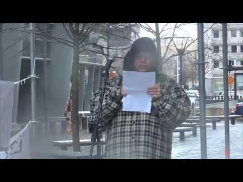 discours giorgio tremante par Muriel Dacq initiative citoyenne pour la liberté vaccinale.wmv